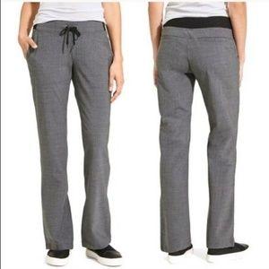 Athleta Midtown Trouser Grey Wool